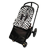 Cuddles Collection Footmuff (Zebra)