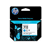 HP 711 3-pack Ink Cartridges - Cyan