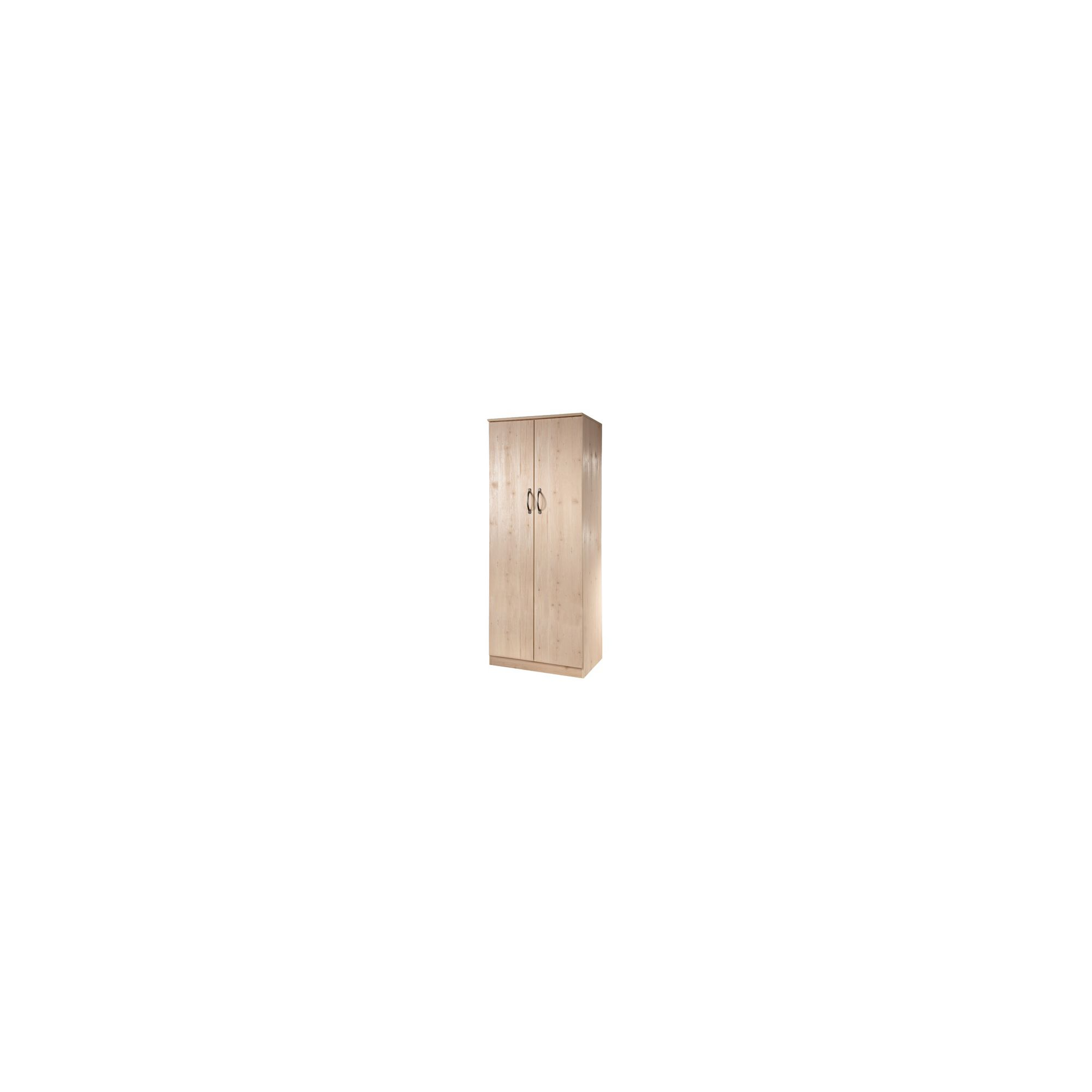Welcome Furniture Florida Plain Wardrobe - 182.5cm H x 95.5cm W at Tesco Direct