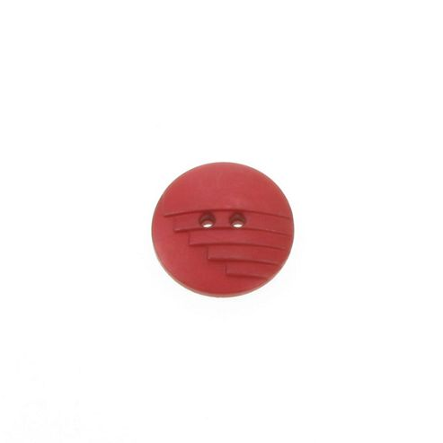 Dill Buttons 23mm Stepped Red