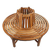 Full Round Teak Tree Seat/Bench 150m