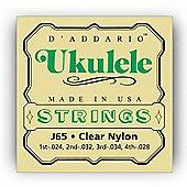 D Addario J65 Ukulele Strings - Soprano
