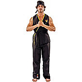 Adult Viper Kai Karate Fancy Dress Costume Standard
