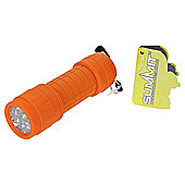 Summit Ultra Brite 9 LED Torch Orange