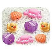 Playgro Bath Squirtees, Pink/Orange/Yellow