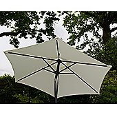 Cambridge 2m Crank And Tilt Garden Parasol Cream