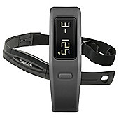 Garmin Vivofit Fitness Tracker with Heart Rate Monitor, Slate