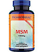 Higher Nature 1000mg MSM Sulphur 90 Tablets