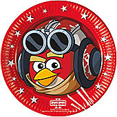 Angry Birds Star Wars Plates - 23cm Paper Party Plates