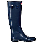 Hunter Womens Refined Gloss - Navy - Size 4