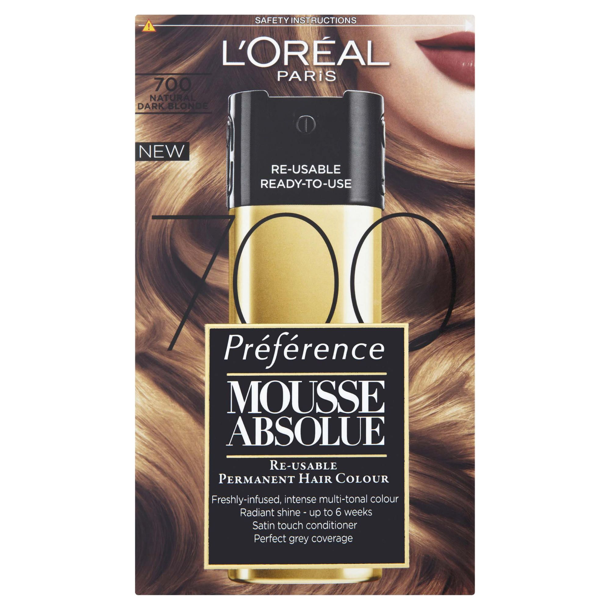 L'Oreal  Mousse Absolue Natural Dk Blonde 700
