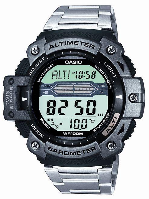 Casio Computer SGW-300HD-1AVER Gents Alarm Chronograph Watch