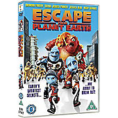 Escape From Planet Earth DVD