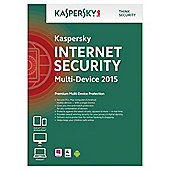 Kaspersky Internet Security, Multi Device, 2 Devices, 1 Year, DVD