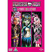 Monster High 6 Disc DVD Boxset