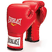 Everlast Laced Boxing Sparring Glove - Red