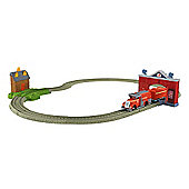 Thomas and Friends Trackmaster Flynn's Firey Rescue Playset