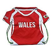 Shirt Gym Sack - Wales