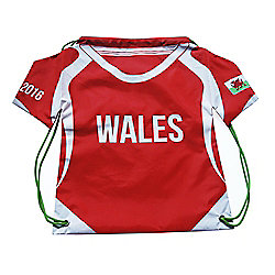 Shirt Gym Sack - Wales