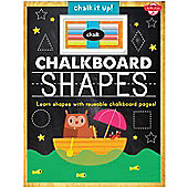 Chalkboard Shapes Reusable tracing Book