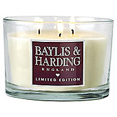 Baylis & Harding Stawberries & Cream Multi-Wick Candle