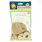 Wooden Numbers Pack - 20pk