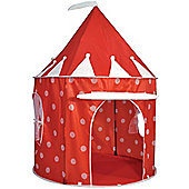 Red Polka Dot Pop Up Tent