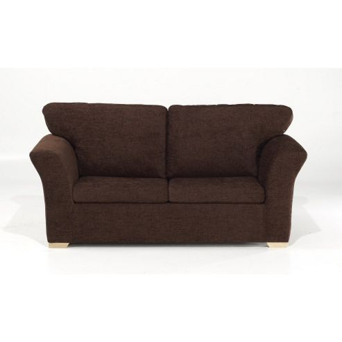 Buy kendal sofa chocolate from our sofa beds range tesco for Sofa bed tesco