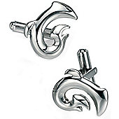 Fred Bennett Tribal Stainless Steel Shape Cufflinks