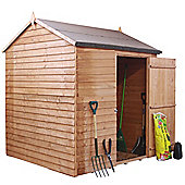 6ft x 6ft Windowless Reverse Overlap Apex Shed