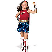 Rubies Fancy Dress - Child Wonder Woman Costume - UK Size Small 3-4 Years