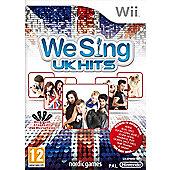 We Sing UK Hits (Solus game only) - NintendoWii