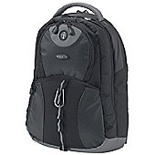15.4 inch. Backpack Style For Notebook - Black/Grey.