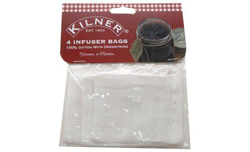 Kilner Set of 4 Infuser Spice Bags