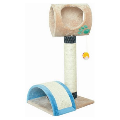 Techstyle Kitty Activity Dome / Cat Scratch Post Toy