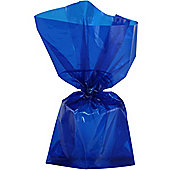 Royal Blue Large Cellophane Party Bags - 29cm