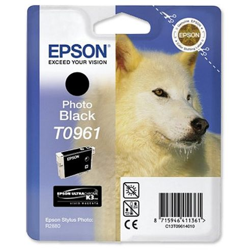 Epson Singlepack Photo Black T0961