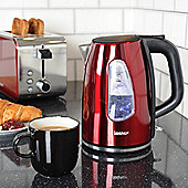 Igenix IG730R 1.7 Litre Jug Kettle - Metallic Red