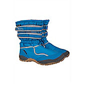 Splish Kids Childrens Junior Girls Boys Ski Snowboard Warm Winter Snowboot - Blue