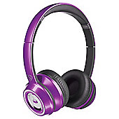 Monster N-Tune Candy Overhead Headphones Purple