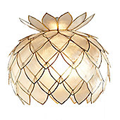 Loxton Lighting 1 Light Artichoke Pendant - Gold