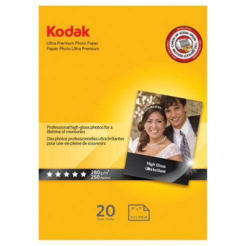Kodak Ultra Paper 7x5 20 Pk