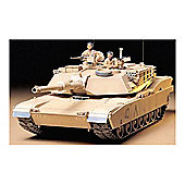 M1A1 Abrams 120mm Gun Main Battle Tank - 1:35 Scale Military - Tamiya