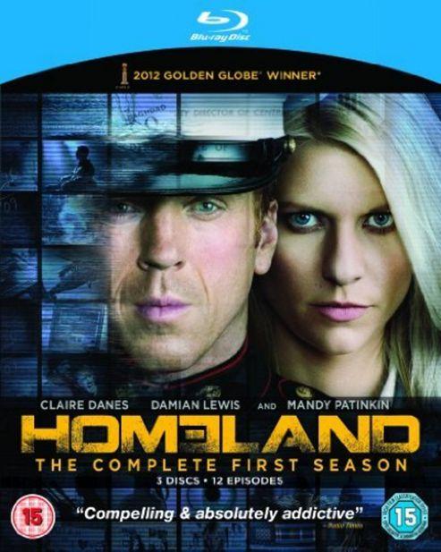 Homeland - Series 1 - Complete (Blu-Ray Boxset)