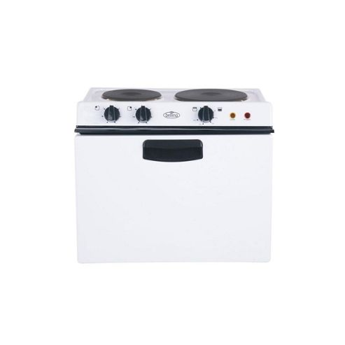Belling 121R, 482mm, White, Electric Cooker