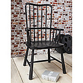 Gallery Wycombe Fire Side Chair - Charcoal