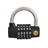 Yale Locks YALY16048 48 mm Steel Five Dial Combination Padlock