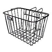 Adie Front Wire Basket in Black - Standard