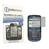 S-Protect LCD Screen Protector & Micro Fibre Cleaning Cloth - Nokia C3