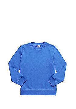 F&F School Unisex Sweatshirt with As New Technology - Royal blue
